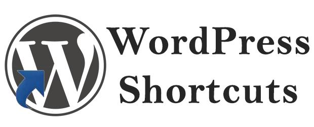 WordPress Shortcuts