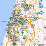 Anagog real time parking in Tel-Aviv