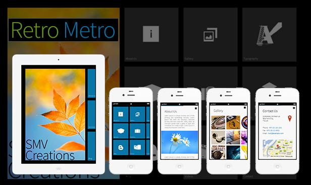 Retro Metro - SMV Creations