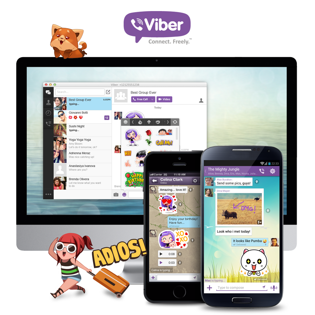 how to create viber stickers