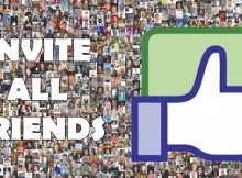 Invite All Friends to Like a Facebook Page / Event – 2014