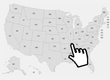 How to create a clickable map