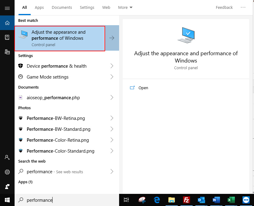 Enable Full Screen Hover Preview (Peek) in Windows 10