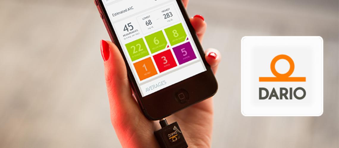 Dario - Diabetes management platform iOS mobile app