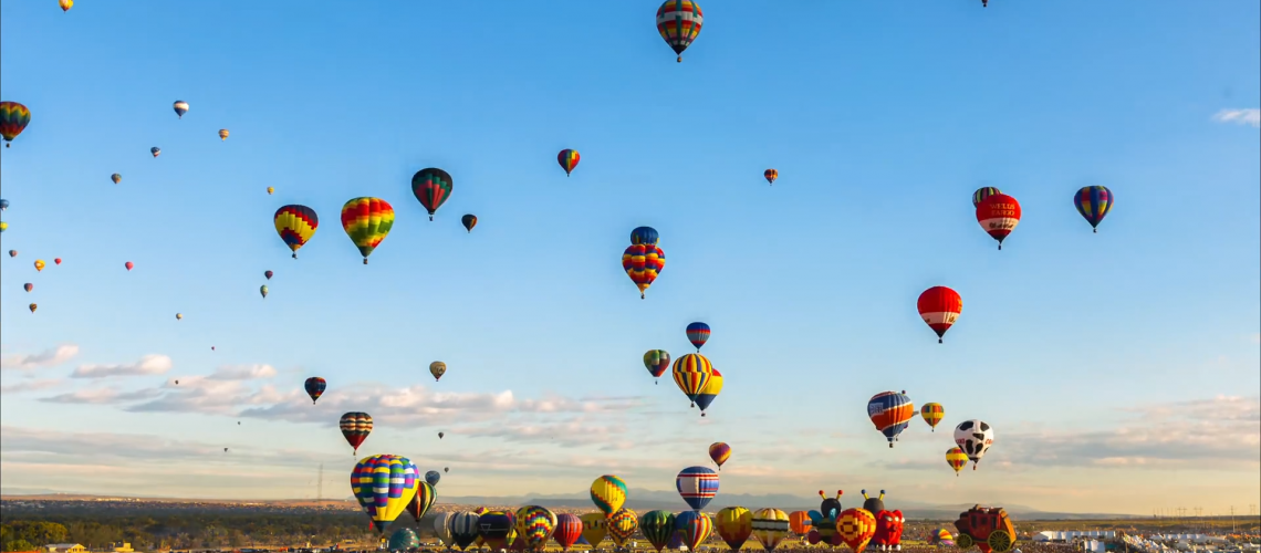 Timelapse – 700 Hot Air Balloons